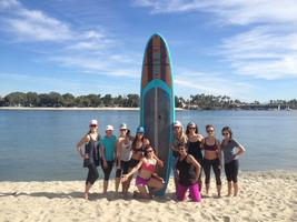 SUPing-Stand Up Paddle Boarding and Yoga