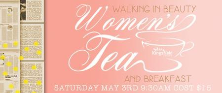 Women's Tea 2014