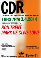 CDR Berlin with RON TRENT & MARK DE CLIVE LOWE