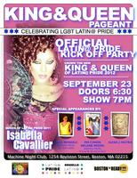 King & Queen of Latin@ Pride Pageant