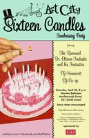 Art City: SIXTEEN CANDLES Fundraising Party