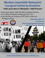 Faith and Labor in Memphis: 1968 to Present