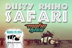 Dusty Rhino Safari with MAFIA KISS