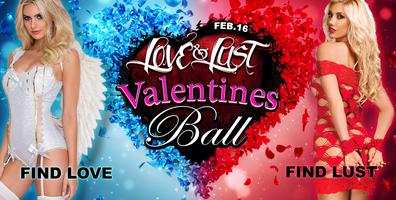 ❤ LOVE & LUST Valentines Ball 2019 * Erotik Dance Party / Till 6AM!