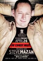 Steve Mazan LIVE- SJ