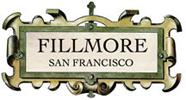 The many boutiques and restaurants on Fillmore Street logo
