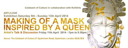 Art of Love: MAKING OF A MASK, INSPIRED BY A QUEEN