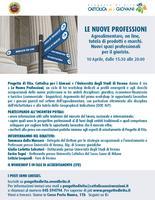 """Workshop """"Le nuove professioni"""" - Progetto di Vita e..."""
