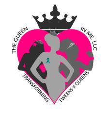 The Queen In Me- Transforming Tweens To Queens logo