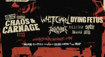 Chaos And Carnage Tour 2019 Featuring Whitechapel Tickets Sat Apr