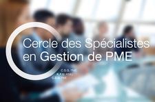 Cercle des Spécialistes en Gestion de PME, présentation.  logo
