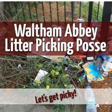 The Waltham Abbey Litter Picking Posse logo