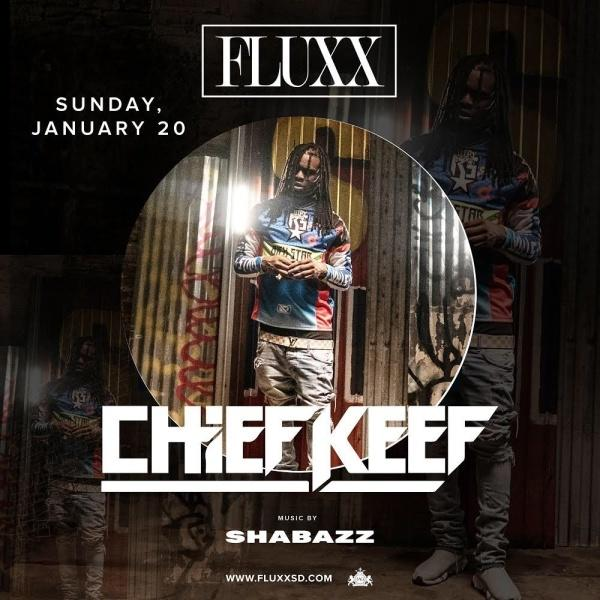 Chief Keef at FLUXX