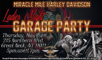 Ladies Night Garage Party