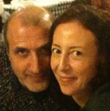 RENATA ROSA UGHINI e ASIMO CALIO' ROBERTO in CHANNEL HEALING logo