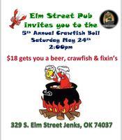 Elm St. Pubs 5th Annual Crawfish Boil