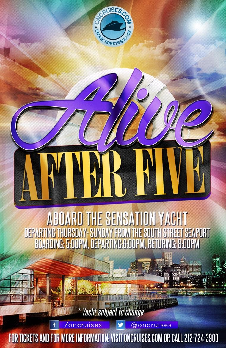 Alive After Five Friday Happy Hour Cruise