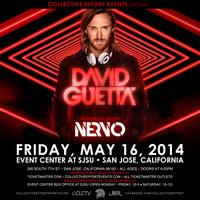 DAVID GUETTA with Special Guests NERVO