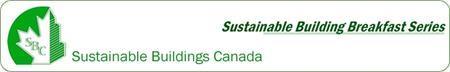 Sustainable Buildings Breakfast: Paul Raff