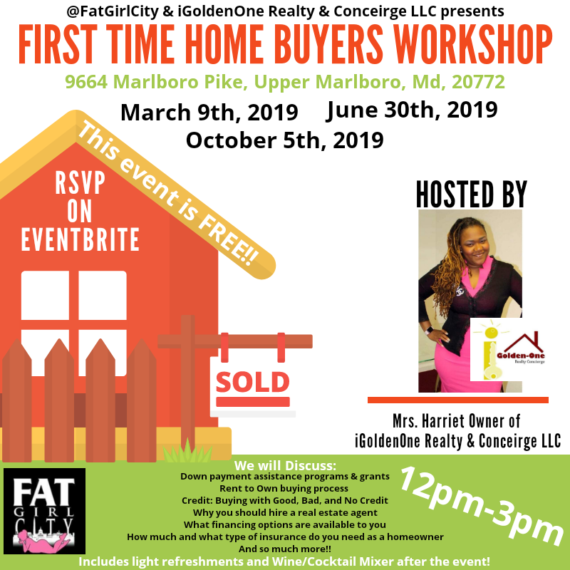 First Time Home Buyers Workshop Tickets Multiple Dates Eventbrite