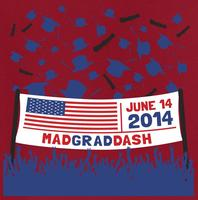 Mad Grad Dash 5k Race