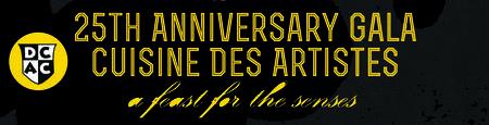 25th Anniversary Gala Cuisine des Artistes
