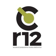 r12 - scuola  di produzione musica elettronica, dj school, sound design, sound engineering, music business. logo