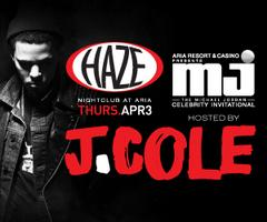 J.Cole Performs Live @ HAZE Nightclub