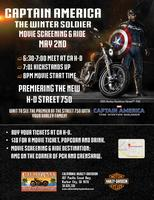 Captain America Screening & Ride