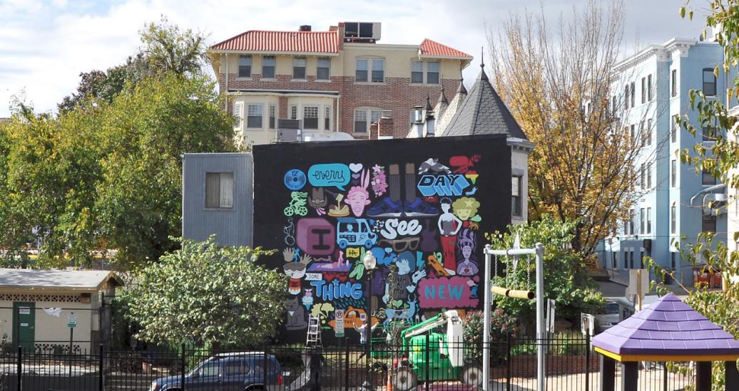 Hidden Murals of DC Walking Tour