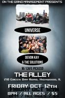 OTG MANAGEMENT PRESENTS! - UNiVERSE LIVE @ THE ALLEY...