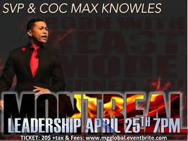 LEADERSHIP MAX KNOWLES