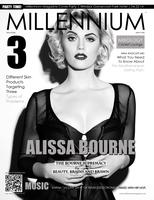 MILLENNIUM MAGAZINE SPRING COVER PARTY AT THE WINDSOR G...