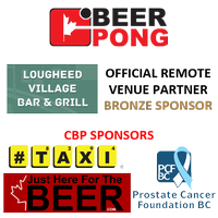CBP PRESEASON BEER PONG TOURNAMENT @ THE LOUGHEED...