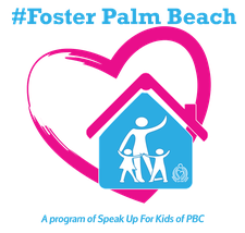 #Foster Palm Beach, A Program of Speak Up for Kids logo