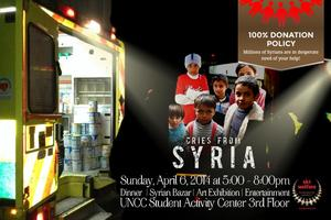 Cries From Syria: Emergency Benefit Dinner