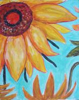 Pa'ina Paint Club - Mothers' Day Sunflower