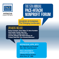 "Pace-Hitachi Nonprofit Forum ""Sources of Funding:The..."