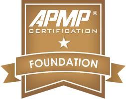 APMP Foundation Certification and Examination