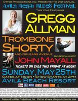 21st Annual Avila Beach Blues Festival Gregg Allman •...