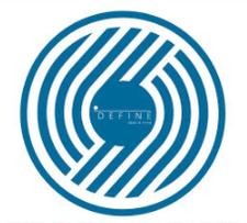Choose from 8 DEFINE studios logo