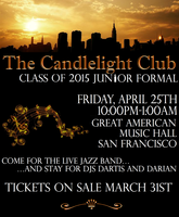 The Candlelight Club: Class of 2015 Junior Formal