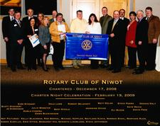 The Rotary Club of Niwot logo
