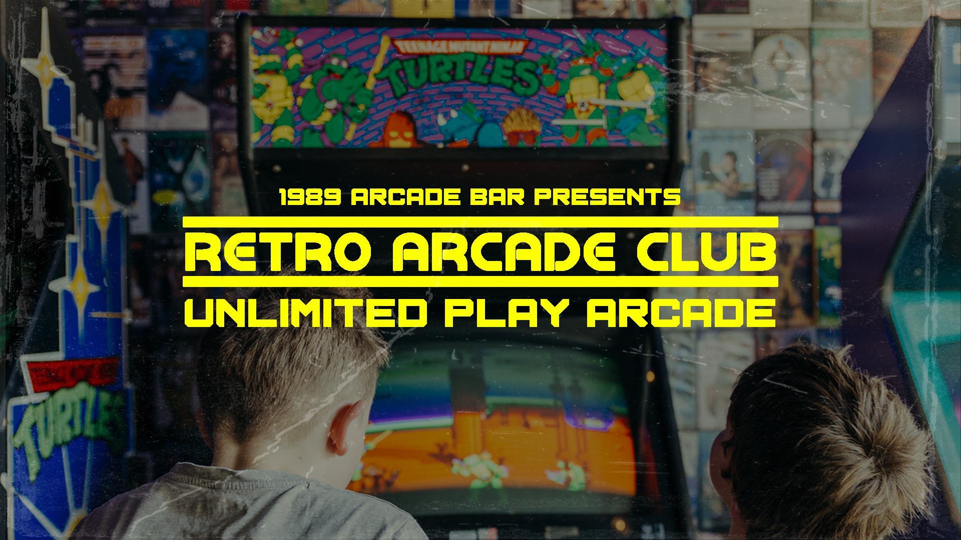 Retro Arcade Club - Unlimited Play Arcade