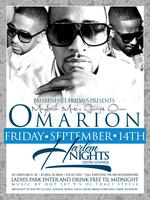 FSO kick off hosted by Omarion this Friday @ Harlem Nights