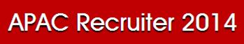 APAC Recruiter 2014
