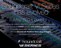 Soundcraft Vi Series Showcase - SSE, Redditch