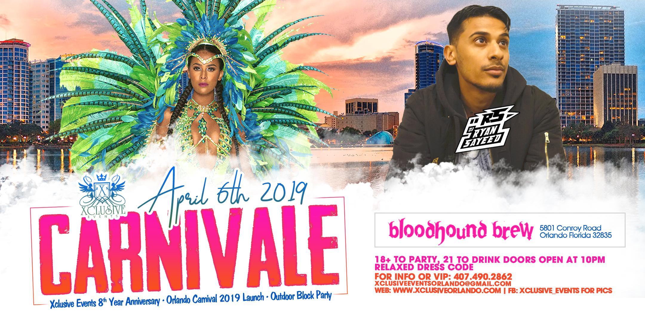 Carnivale 2019 Ft. Ryan Sayeed (Miami)