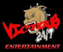 VICIOUS 24-7 ENTERTAINMENT logo