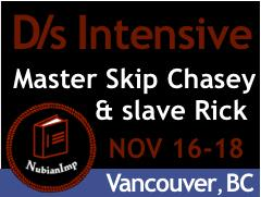 3rd Annual Vancouver D/s Intensive